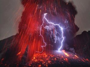 Lightning Eruption